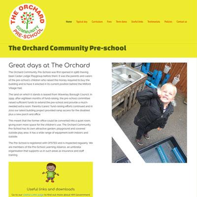 Orchard Website