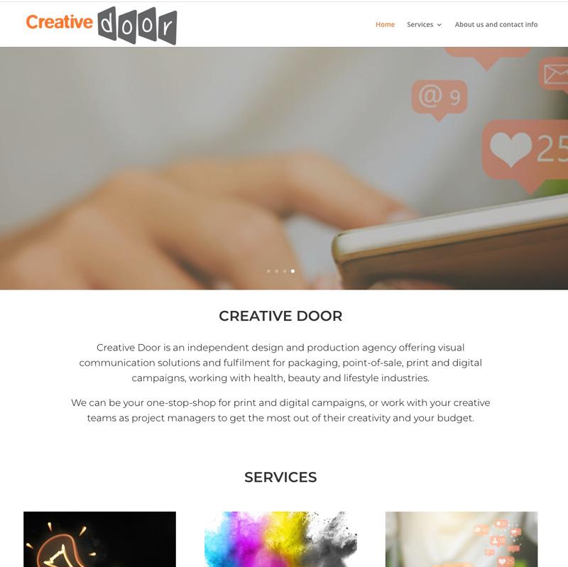 Creative Door Website